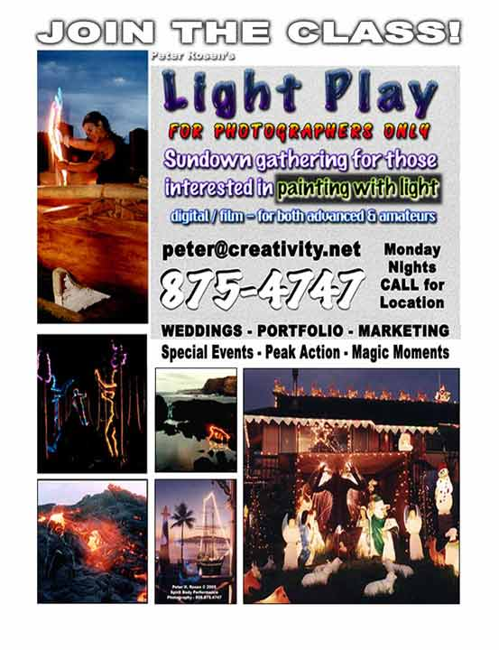 Light play poster